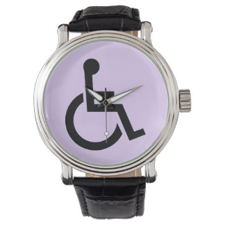 Handicapped Symbol Watch