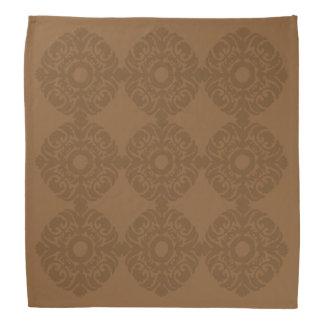 Handkerchief - Brown Crest Bandana