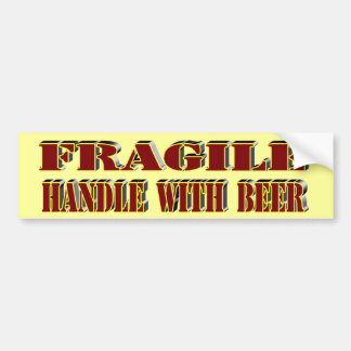 Handle Carefully Bumper Sticker