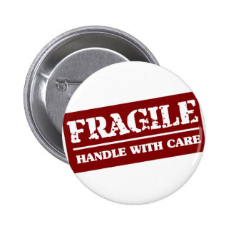 Handle with care button