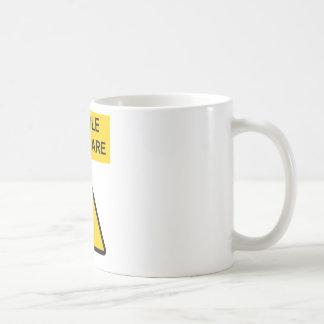 Handle With Care Coffee Mug Hard Hat Edition