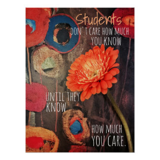 Handle with Care Teacher Poster