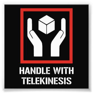 Handle With Telekinesis Photo Print