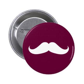 Handlebar Mustache Button