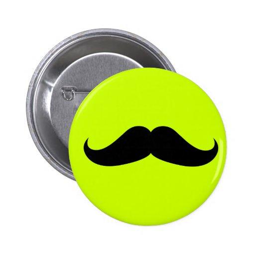 Handlebar Mustache Pin