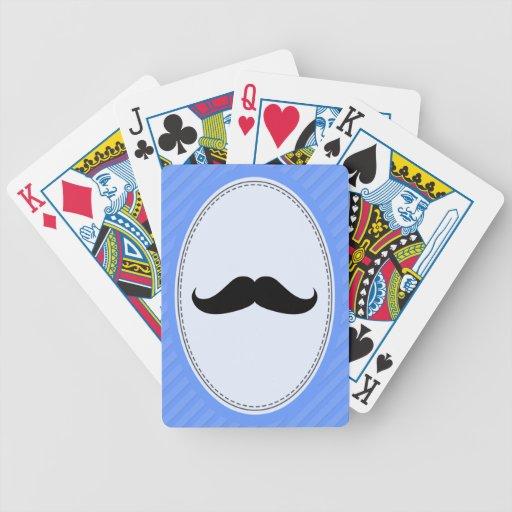 Handlebar Mustache Card Decks