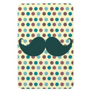 Handlebar Retro Mustache Moustache Stache Vinyl Magnets