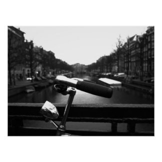 Handlebars in Amsterdam Poster