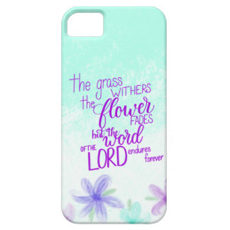 Handlettered Bible Verse iPhone Case, Scripture iPhone 5 Covers
