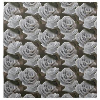 handmade bouquet for holiday napkin