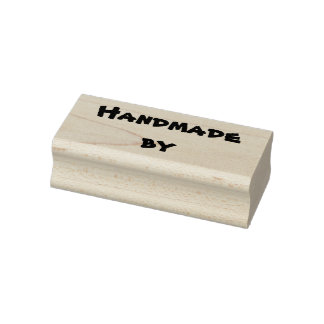 Handmade by rubber stamp - scrapbooking, diy