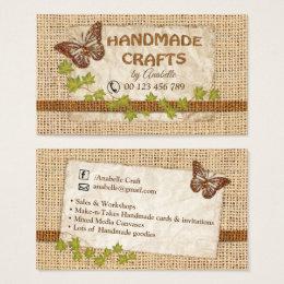 Handmade goods business cards business card printing zazzle handmade crafts business card colourmoves