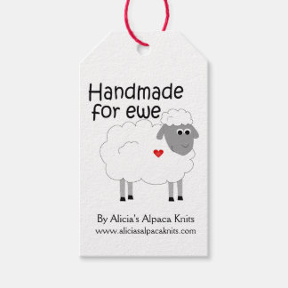Handmade for Ewe Hangtag Gift Tags