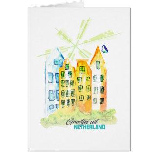 Handmade greeting card from Nederland