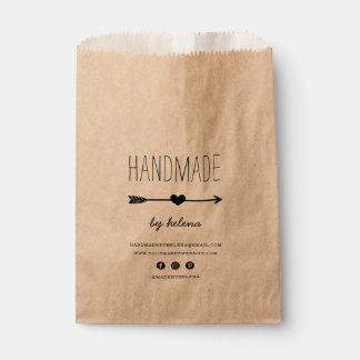 Handmade Heart | Kraft Product Packaging Bags Favour Bags