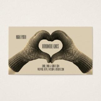 Handmade Knits Business Card