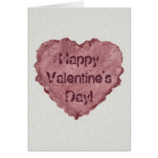 Handmade Paper Heart 009 Greeting Card
