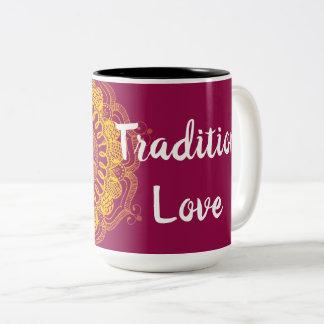 Handmade Tradition Love Mandala Mug