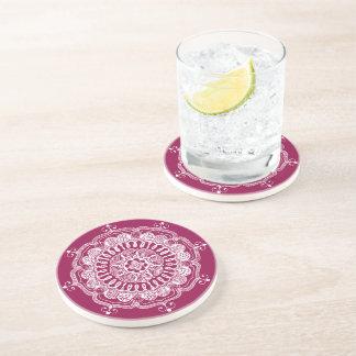 Handmade Traditional Mandala Coaster