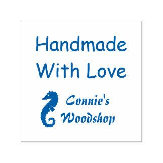 Handmade With Love Custom Nautical Self-inking Stamp