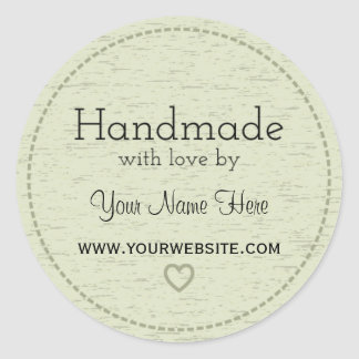 Handmade with Love | Handmade Business Stickers