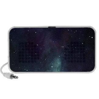 Handpainted Galaxy Portable Speaker