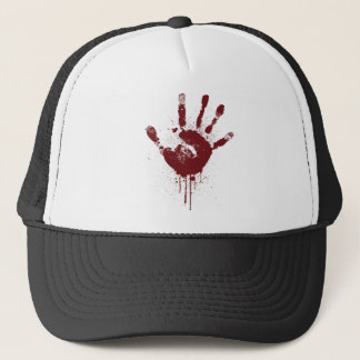 handprint trucker hat