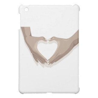hands and heart cover for the iPad mini