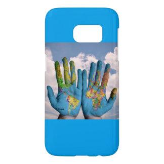 HANDS EARTH SAMSUNG GALAXY 7