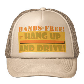 HANDS FREE CROPPED TRUCKER HATS