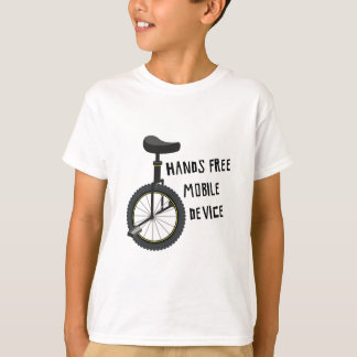 Hands Free Mobile Device T-Shirt