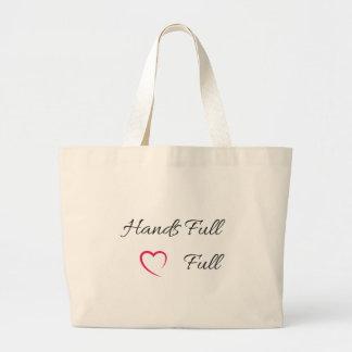 Hands Full Heart Full Tote