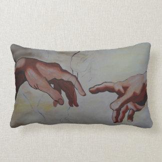 hands lumbar cushion