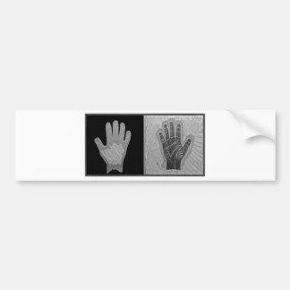 Hands of Fate Bumper Sticker