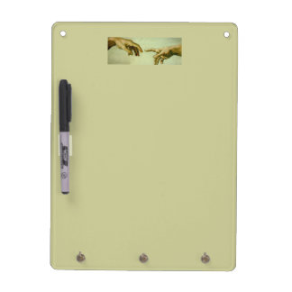Hands of God Dry Erase Board
