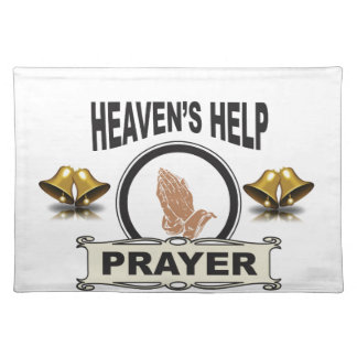 hands of help and prayer placemat