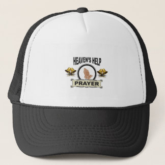 hands of help and prayer trucker hat