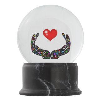 Hands of Love Snow Globe