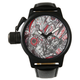 Hands of Rage Serpent Eye Wrist Watch