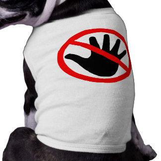 Hands off shirt