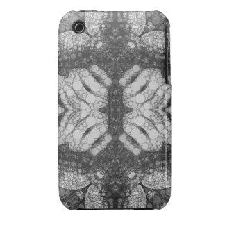 Hands Turtle Abstract Black&White iPhone 3 Cover