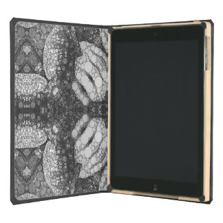 Hands Turtle Abstract Black&White iPad Air Case
