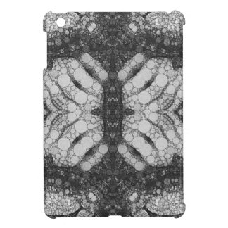 Hands Turtle Abstract Black&White iPad Mini Cover
