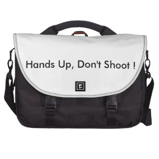 Hands Up,Don't Shoot ! Computer Bag