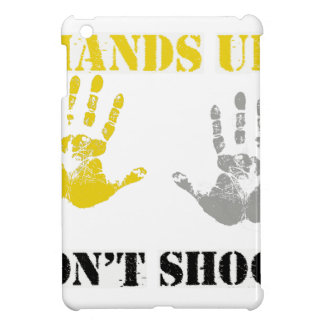 HANDS UP DONT SHOOT png iPad Mini Cover