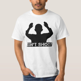 Hands Up - DON'T SHOOT T-shirts