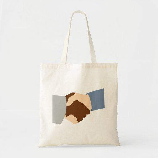 Handshake Tote Bags