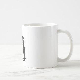 Handshake between gentlemen mug