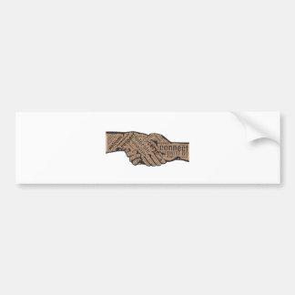 Handshake Bumper Sticker