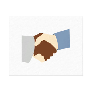 Handshake Canvas Prints